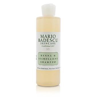 Mario Badescu Henna & Seamollient Shampoo (for All Hair Types) - 236ml/8oz