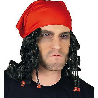 Pirata di panno di bucaniere pirata perla bandana