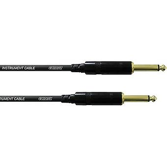 Hjertelig CCI 9 PP-instrumenter Kabel [1x Jack plug 6,35 mm - 1x Jack plug 6,35 mm] 9,00 m Svart