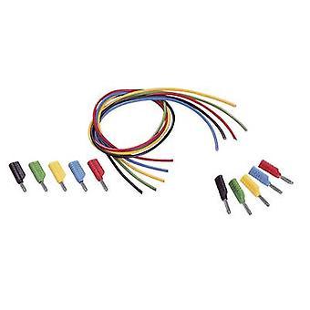 فولتكرافت MS-4041 اختبار مجموعة الرصاص [الموز جاك 4 ملم - الموز جاك 4 ملم] 1.00 م الأسود والأحمر والأزرق والأصفر والأخضر