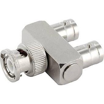 Telegärtner J01004A0009 BNC adapter BNC socket - BNC plug, BNC socket 1 pc(s)