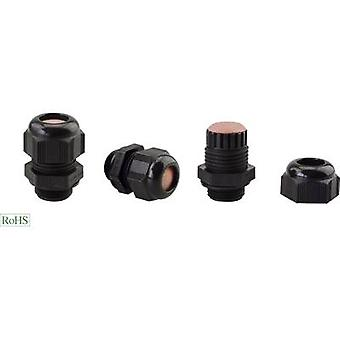 Helukabel HT-PA-EX-L 906938 Cable gland ATEX M20 Polyamide Black 1 pc(s)