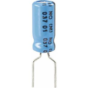 Vishay 2222 037 38221 elektrolytisk kondensator Radial føre 5 mm 220 µF 63 V 20% (Ø x H) 10 x 20 mm 1 eller flere PCer