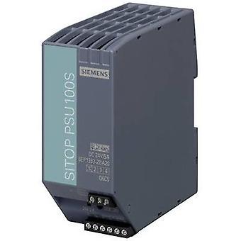 Siemens SITOP PSU100S 24 V/5 A Rail mounted PSU (DIN) 24 V DC 5 A 120 W 1 x