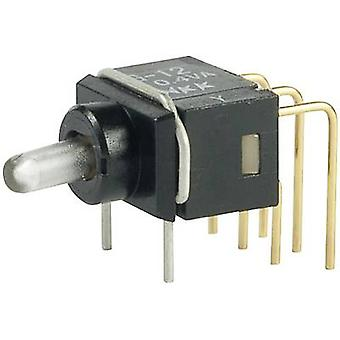 NKK Switches G12JHC Toggle switch 28 V DC/AC 0.1 A 1 x On/On latch 1 pc(s)