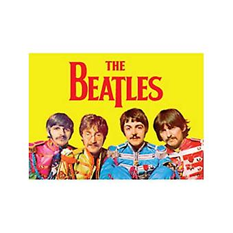 Beatles Sgt. Pepper magnes na lodówkę (żółty)
