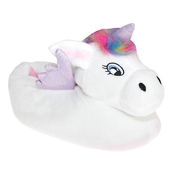 Slumberzzz Womens/Ladies Unicorn Slippers