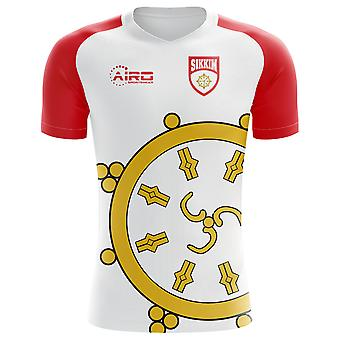 2020-2021 Sikkim Home Concept Voetbalshirt