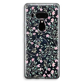HTC U12 + gennemsigtig sag (Soft) - lækkeri blomster