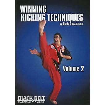Winning Kicking Techniques DVD  Volume 2 by Chris Casamassa