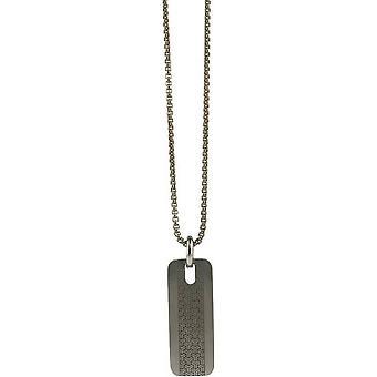 Ti2 Titanium Triline Pendant - Silver