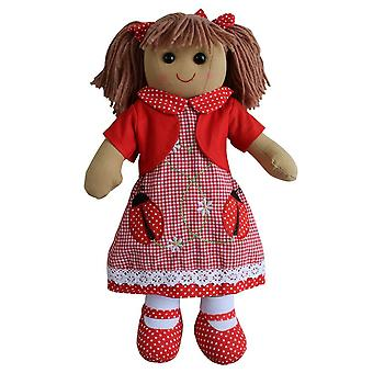 Пауэлл ремесло Божья коровка платье тряпичная кукла