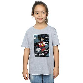 Marvel Girls Spider-žena boj T-shirt