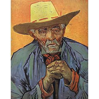 Portrait of Patience Escalier, Vincent Van Gogh, 69x56cm