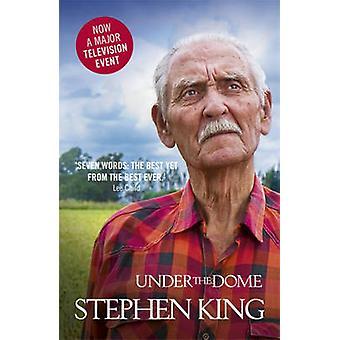 Sob a cúpula de Stephen King - livro 9780340992586