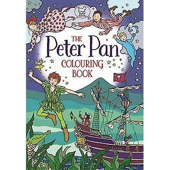 Peter Pan färga boken av Ann Kronheimer - 9781780554358 bok