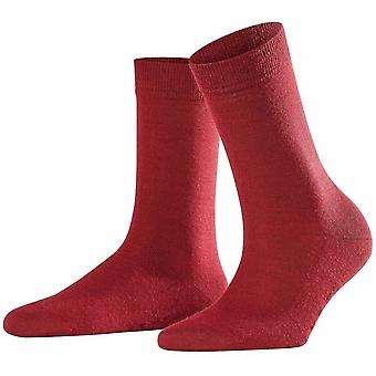 Falke Softmerino zokni-bor Red
