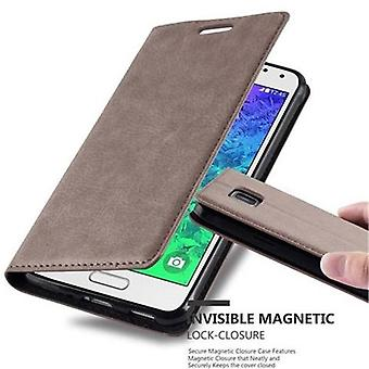 Case for Samsung Galaxy ALPHA Foldable Phone Case - Cover - with Stand Function and Card Tray