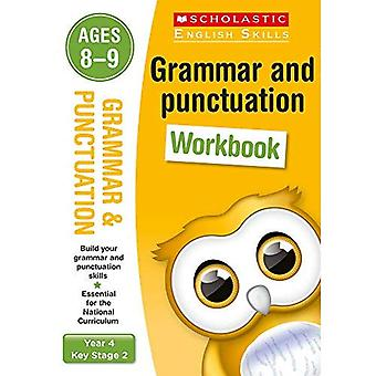Grammatica e punteggiatura anno 4 cartella di lavoro (conoscenza scolastica della lingua inglese)