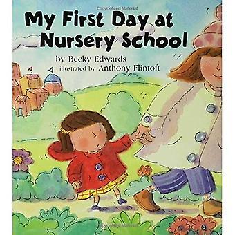 Mijn eerste dag op de kleuterschool