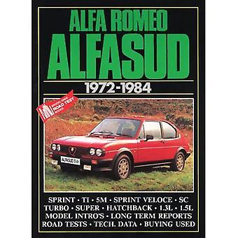Alfa Romeo Alfasud, 1972-84: weg- en Vergelijkende Tests, Model introducties, geschiedenis en het kopen van gids artikelen. Modellen: 1186, Ti, 1286 Sprint, 5M, 1300Ti,... Super, serie III (Brooklands Road Tests)