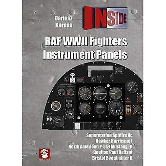 RAF WWII Fighters Instrument Panels