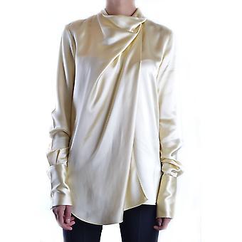 Céline Ezbc064006 Dames's Geel Zijden Shirt