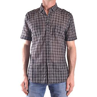 Neil Barrett Ezbc058032 Men's Multicolor Cotton Shirt