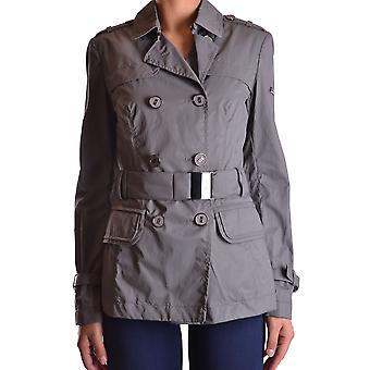 Geospirit Ezbc203014 Women's Grey Nylon Outerwear Jacket