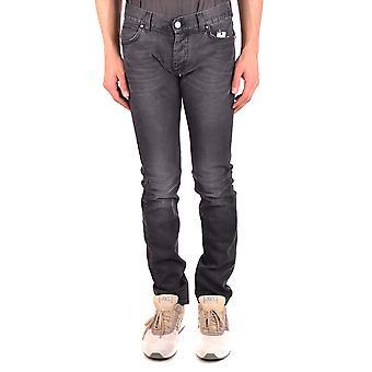 Karl Lagerfeld Ezbc217002 Hombres's Jeans Denim Negros