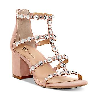 INC International Concepts Womens Helmi Fabric Open Toe Casual Strappy Sandals