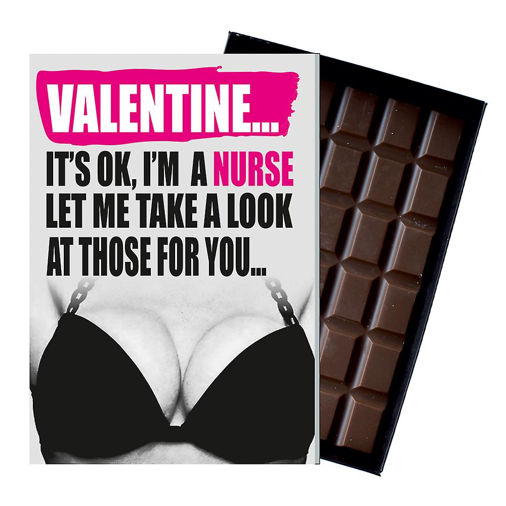 Valentines Day Gift Rude Present for Women Female Student Nurse Chocolate IYF169