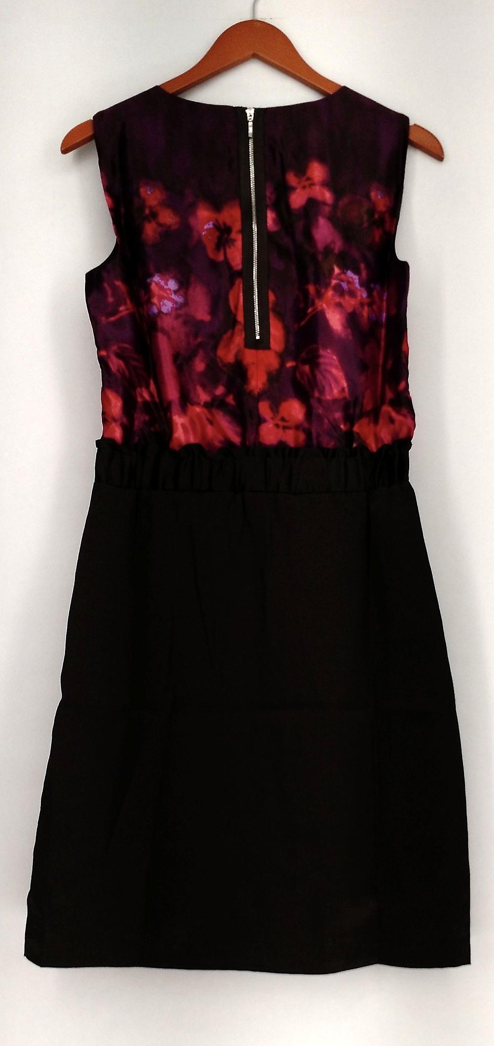 Kelly by Clinton Kelly Dress Cap Slv Floral Printed Dress Purple/ Red A218739 wvtjaM