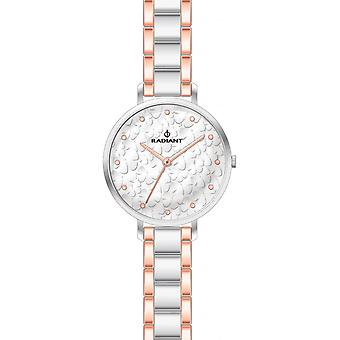 Radiant new romance watch for Women Analog Quartz with stainless steel bracelet RA431607