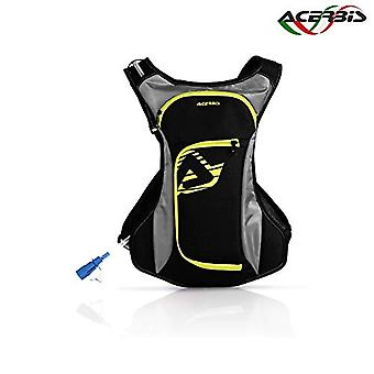 Acerbis DIO0000790 Backpack Water Drink Bag - Black/Yellow