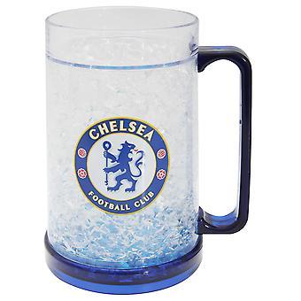 Chelsea FC Official Football Crest Freezer Mug
