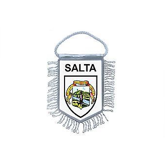 Sinalizar mini bandeira país carro decoração lembrança Blason Argentina salta