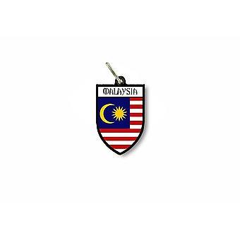 Chiave chiave porta cle bandiera collezione città cappotto di armi malese Malesia