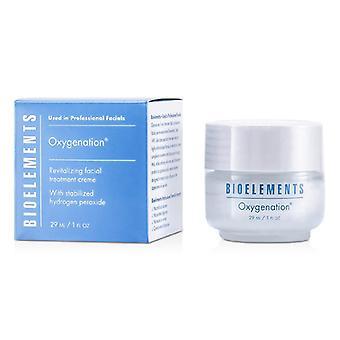 Oxigenación - Crema de Tratamiento Facial Revitalizante - Para Tipos de Piel Grasa Combinación Seca Muy Seca - 29ml/1oz