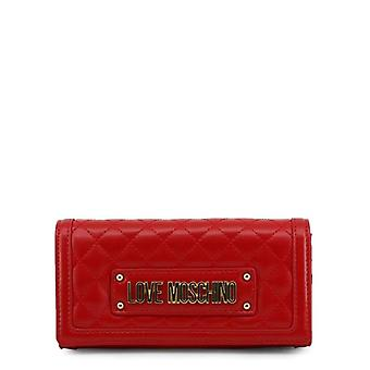 Love Moschino Women Red Clutch bags -- JC56168944