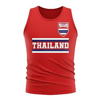 Thailand Core Football Country Sleeveless Tee (Red)