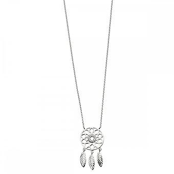 Beginnings Sterling Silver Dream Catcher Necklaces N4326C