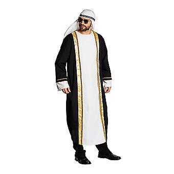 Araber Scheichksotüm Arabergewand Scheich Kostüm für Herren