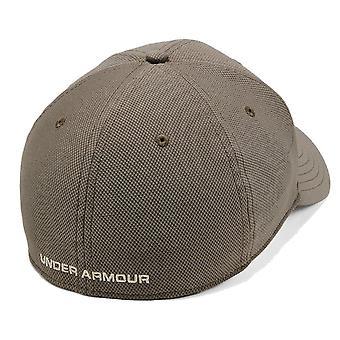 Under Armour Blitzing 3.0 Mens Stretch Fit Baseball Cap Hat Khaki