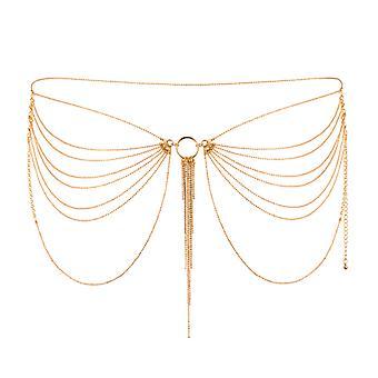Hip magnifique collier-or