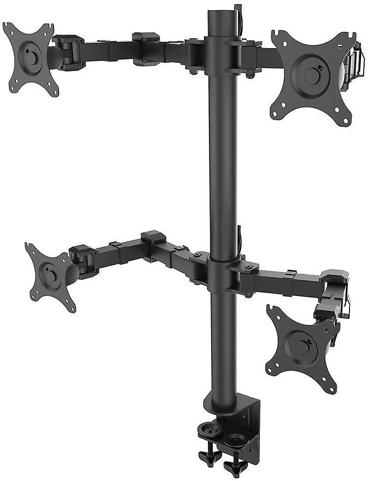 Fleximounts Monitor Holder Table Mount Stand 4 arms for 4 monitors 10