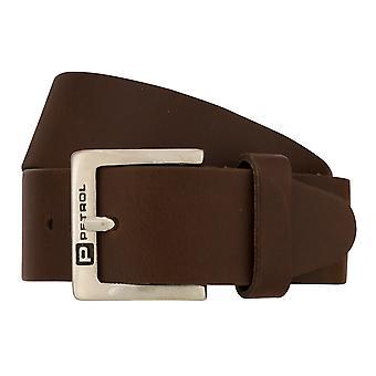 Teal Belt Men's Belt Leather Belt Jeans Belt Brown 8413