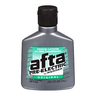Afta by mennen pre-electric shave lotion, original, 3 oz