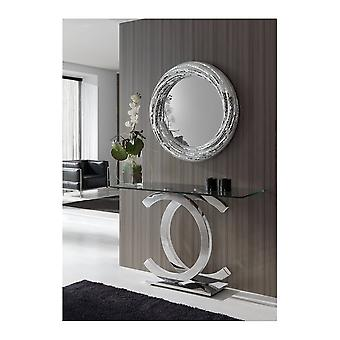 Schuller Calima Modern Deco Console Table, Stainless Steel, 120cm