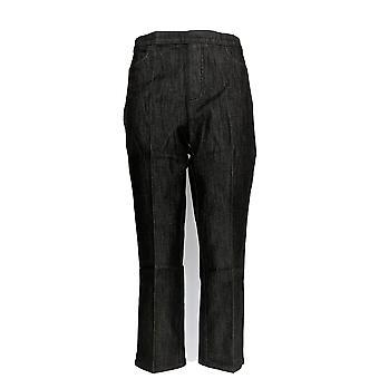 Isaac Mizrahi Live! Women's Jeans 365 Stretch Black a254298